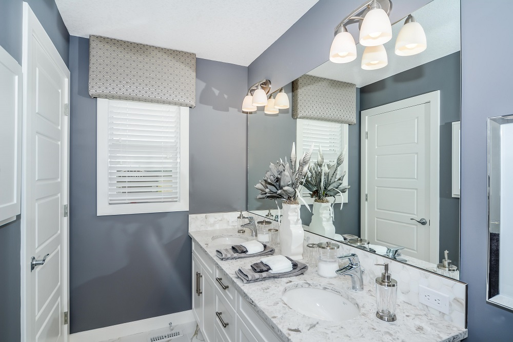 Sterling Homes master ensuite